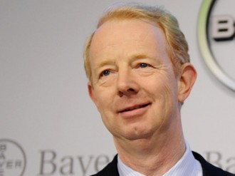 Unafraid to make wholesale changes, Bayer's leader has forced the giant to step up a gear