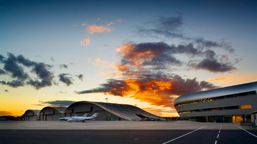 Once the site of the UK's first powered flight, TAG Farnborough Airport is now Europe's leading private business airport