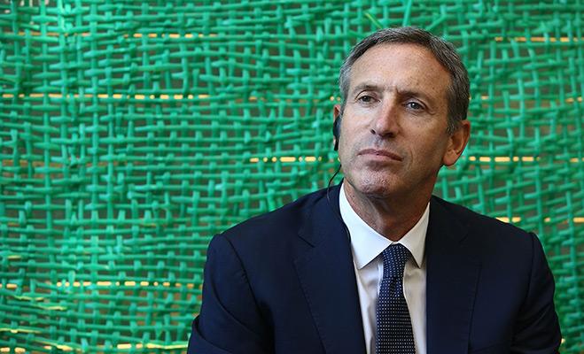 Howard Schultz Leadership Profile
