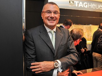 TAG Heuer president and CEO Jean-Christophe Babin has an eye for precision and innovation