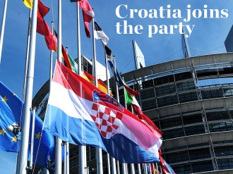 On July 1, Croatia became the 28th state to join the European Union. With unemployment and economic instability strangling the country, it's no wonder very few Croatians turned out to celebrate