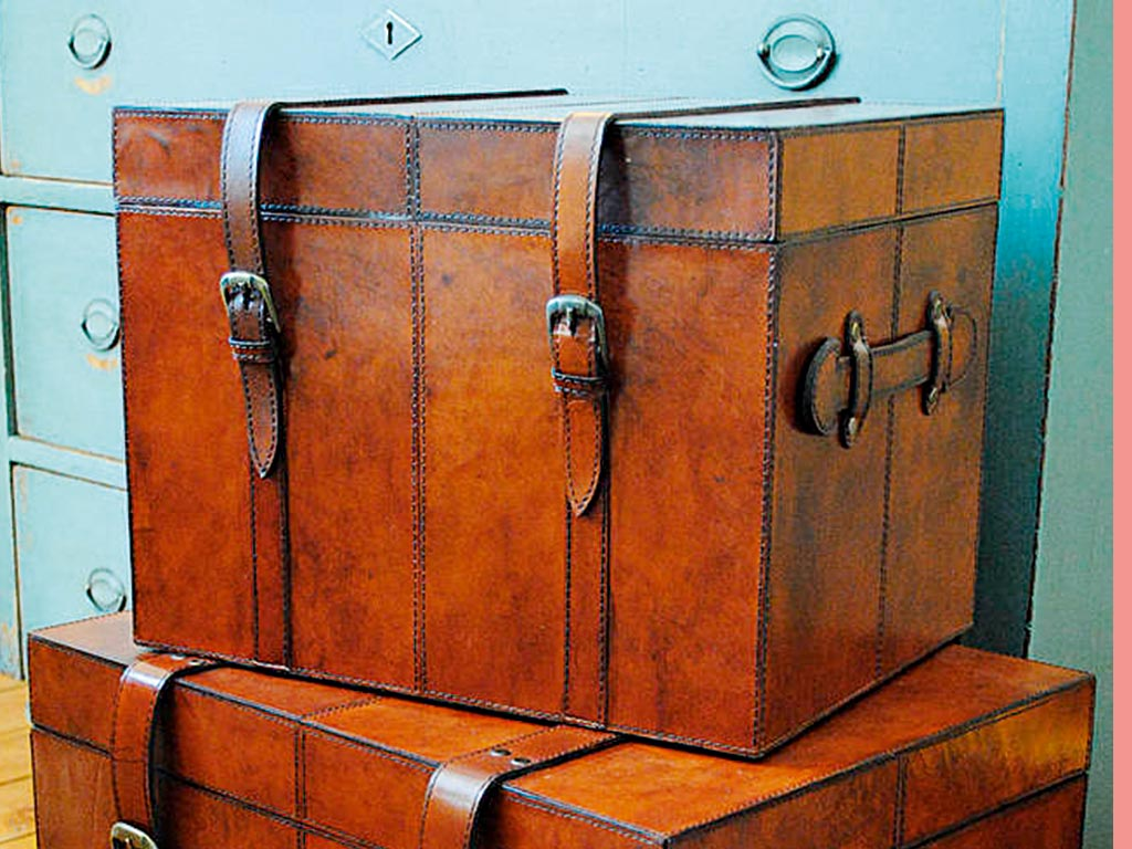 Leather Trunk by Life of Riley, Not On The High Street