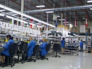 Avigilon's manufacturing facility in Richmond, British Columbia, Canada