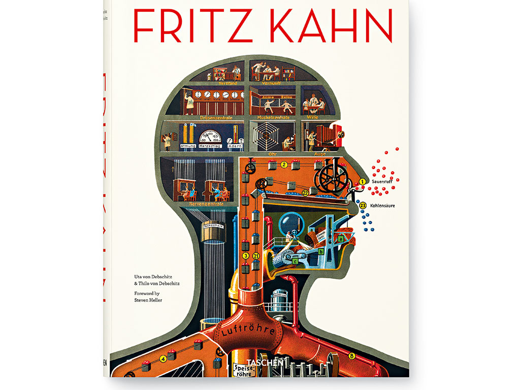The cover of Fritz Kahn published by Taschen