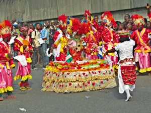 Scenes from Carniriv festival in Rivers State, Nigeria