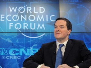 At the WEF meeting in Davos today, George Osborne debated the effectiveness of monetary policy in supporting a modern economy