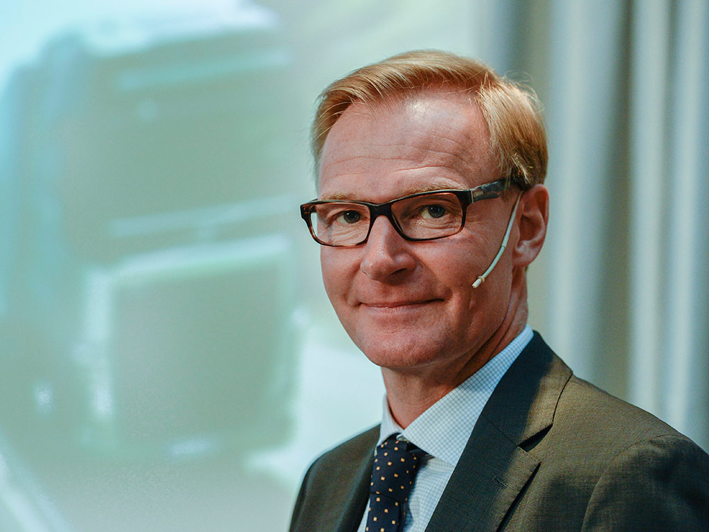 Volvo veteran Olof Persson is well equipped to spearhead a comprehensive overhaul of the company's trucking business