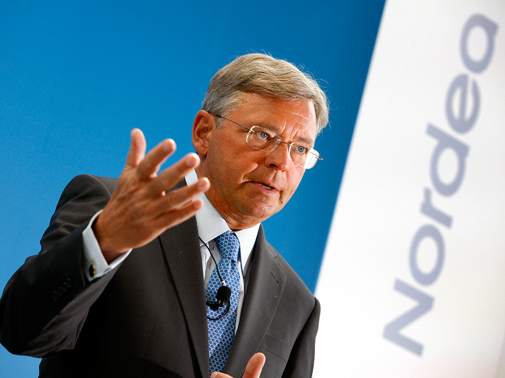 Nordea Bank CEO Christian Clausen is leading the institution onwards