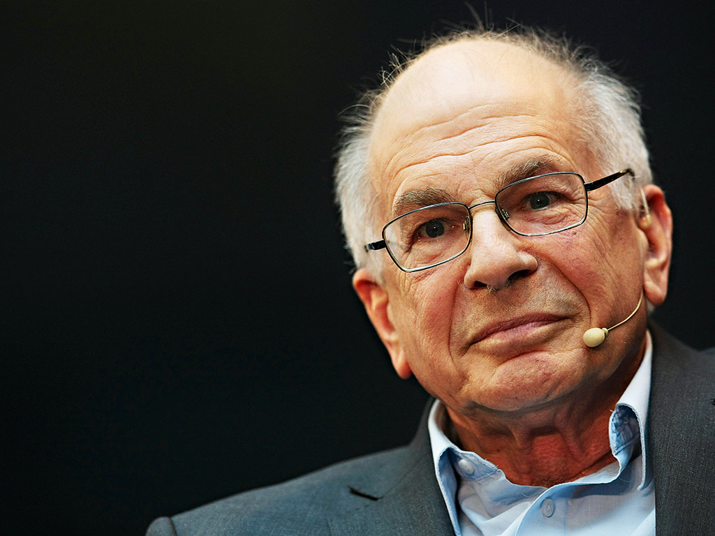 Daniel Kahneman, the Nobel prize-winning Israeli-American psychologist. He says that when traders get into trouble, they lose any sense of rationality