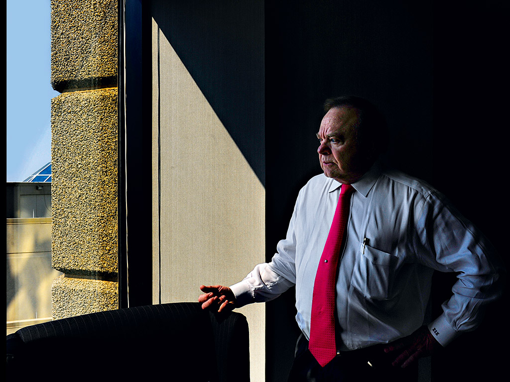 Harold Hamm, Founder and CEO of Continental Resources. He believes the US crude oil export ban is damaging to the country
