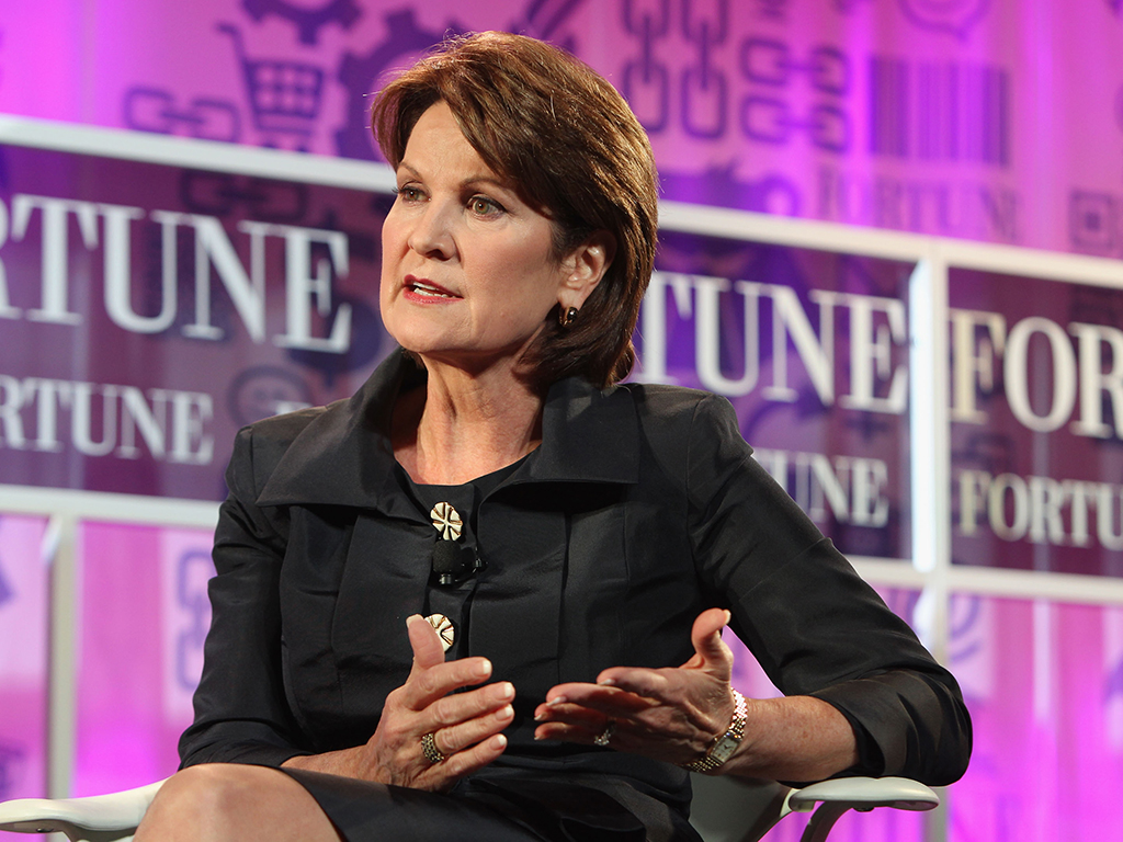 One of the most influential CEOs in the US, and the first female boss of Lockheed Martin, Ma