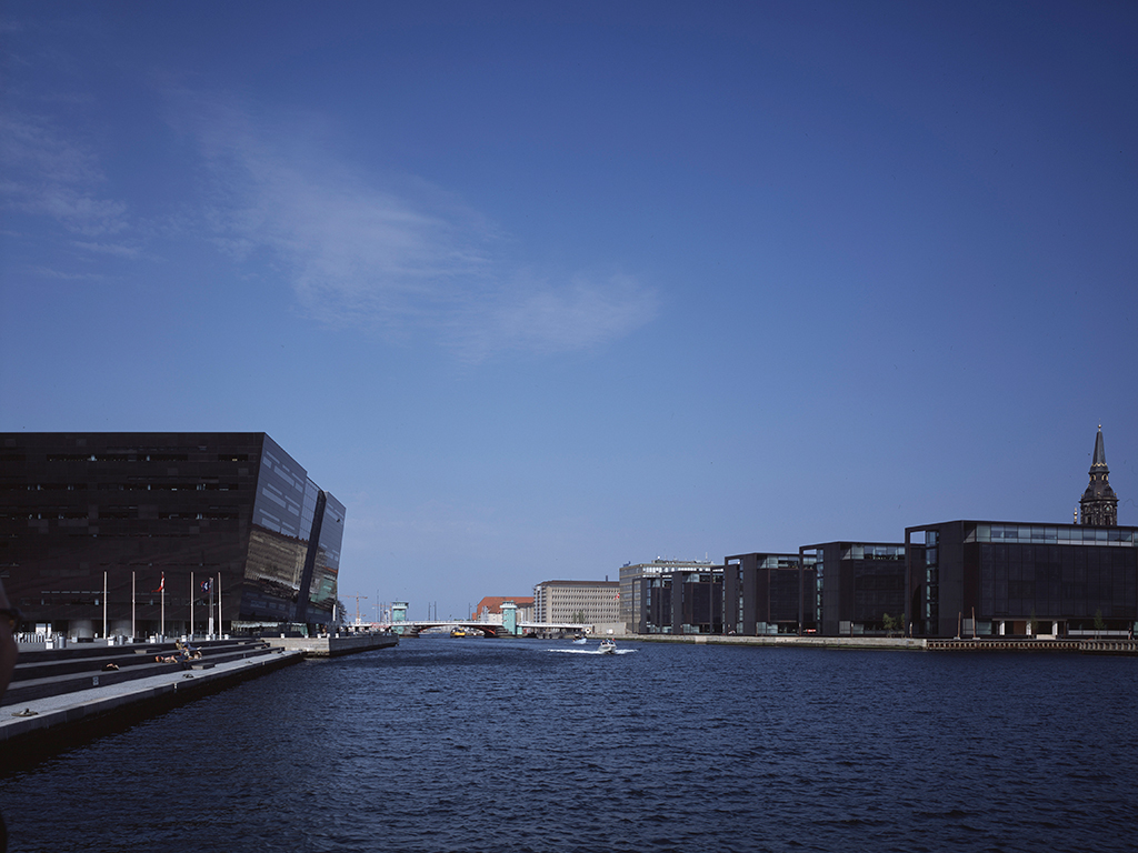 Nordea Bank headquarters in Copenhagen