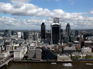 Despite Europe struggling to attract venture capital, cities such as London (pictured) have been able sustain levels of it thanks to low corporation taxes and the creation of various innovation schemes