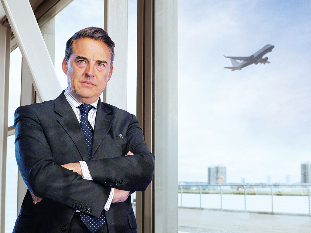 Aristocrat Alexandre de Juniac has been credited with transforming the fortunes of Air France-KLM, which fell into trouble following the 2008 financial crisis and a flight crash in 2009