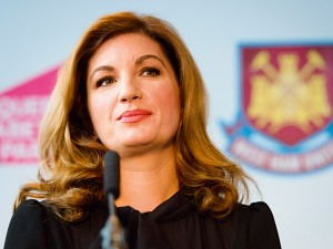Karen Brady, Vice-Chair of West Ham United, is just one example of women in sport promoted to a leadership position