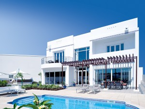 The Wave Muscat development offers beautiful villas, such as that above, to tourists and property buyers