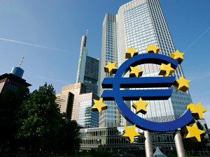 The euro symbol in front of the Frankfurt Tower. According to Afschrift, there has been a misunderstanding regarding tax competition among some EU member states