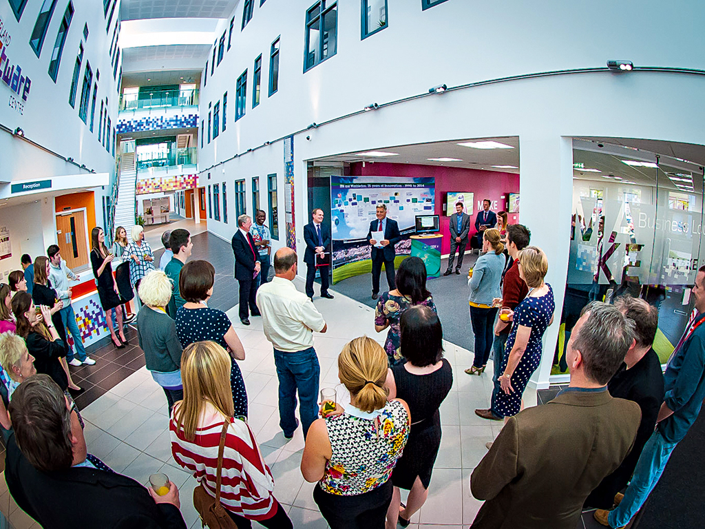 Sunderland Software Centre. The £10m investment opened this year