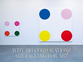 The value of art as a financial asset is debatable. However, many firms spend large amounts amassing collections. The reasons for this go deeper than mere financial speculation