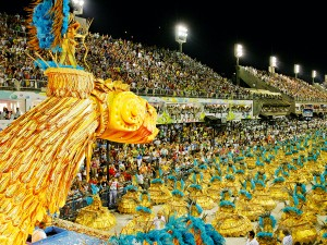 A carnival in Rio de Janeiro, a masterpiece of Brazilian project management. FIA Business School is helping to further the country's business prospects