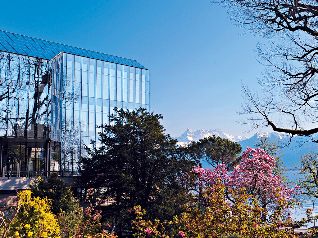 The Montreux Music and Convention Centre