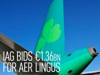 British Airways owner IAG has offered to purchase Irish carrier Aer Lingus for €1.36bn, marking its third bid in a relentless effort to grow its business