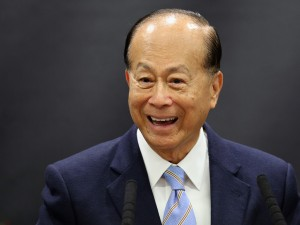 Hutchison Whampoa chairman Li Ka Shing. The company has become a serious contender in the telecoms market, having recently purchased Three. It is currently in talks to purchase O2 for £10.25bn