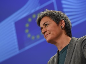 Margrethe Vestager, commissioner in charge of the EU's competition policy, said that the union's decision to cap card payment fees would be good for consumers, business and Europe