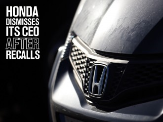 Following a disappointing year and series of recalls, Honda's CEO is being replaced by the company's recently appointed Managing Officer