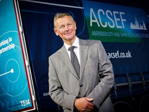 Colin Crosby, ACSEF Chairman. The body has worked hard to ensure Aberdeen City and Shire remains a global energy hub