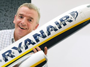 Ryanair's controversial CEO Michael O'Leary, who has an incredible knack for getting the airline attention, albeit sometimes for the wrong reasons