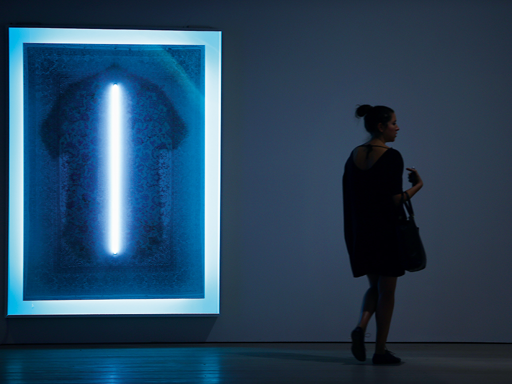 Gleam by Stepan Ryabchenko, part of the Premonition exhibition