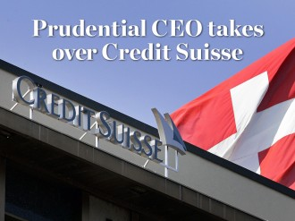 Prudential's Tidjane Thiam is to replace Brady Dougan as CEO of Credit Suisse later this year, in the hope that he can replicate his performance at the UK insurer