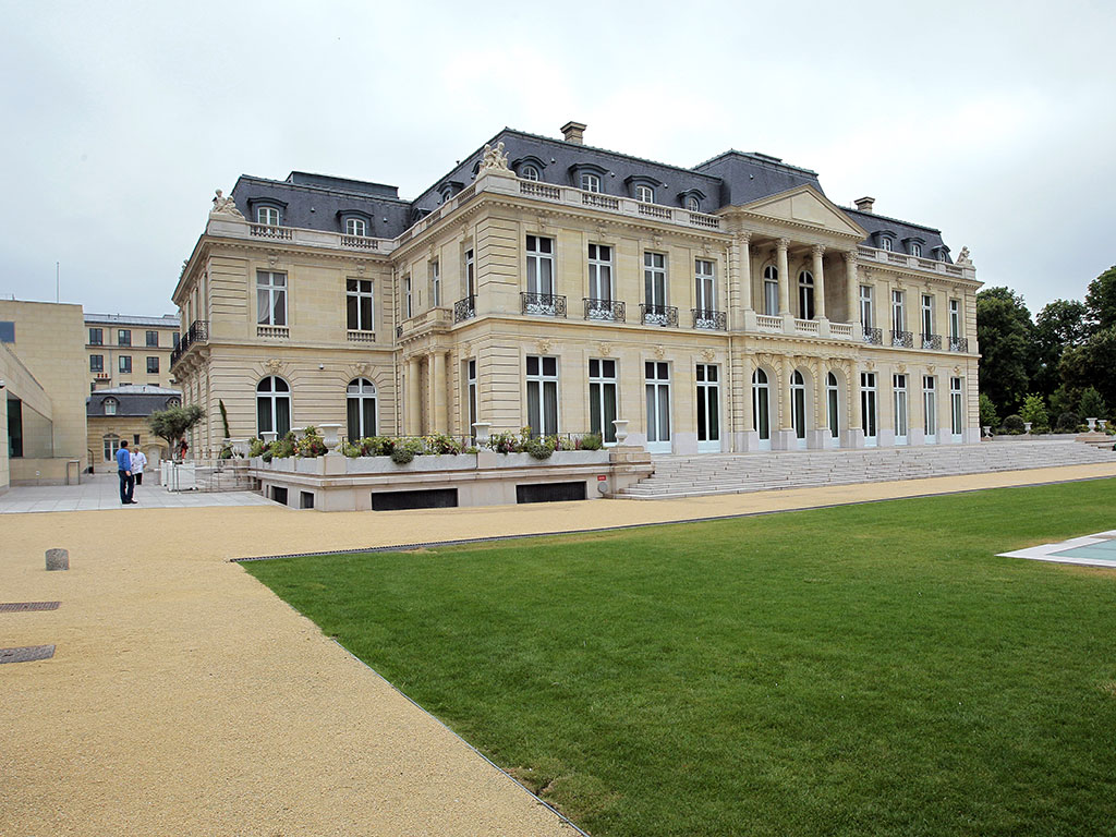 vThe OECD headquarters in Paris, France. It has released a report warning that the solvency of pension and insurance schemes is in peril