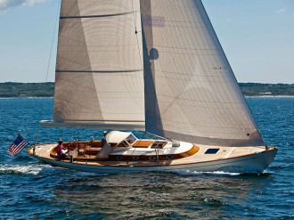 Yacht design was once all about racing. Nowadays, however, luxury and ease-of-use are just as important. One US firm is combining industry heritage with modern technology