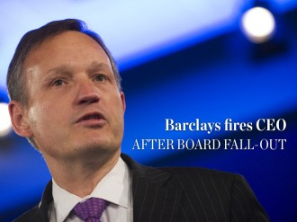 In a drastic effort to improve the bank's stuttering performance, Barclays axes CEO Antony Jenkins and appoints new chairman John McFarlane in the interim