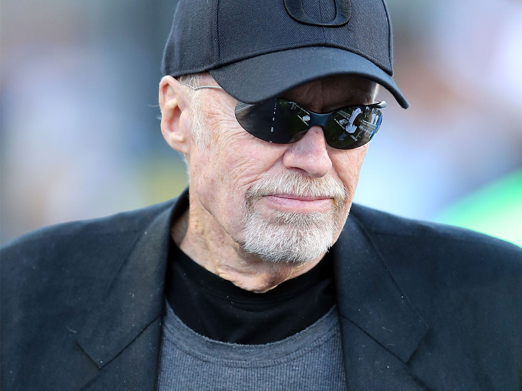 A knight in shining armour: Phil Knight has an impressive track record as Nike's chairman