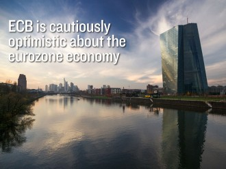 Recently released ECB meeting minutes note a number of positive indicators in the euro economic area
