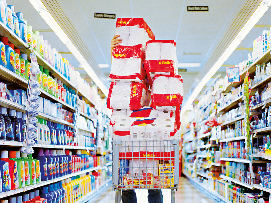 Tough economic conditions have made shoppers more likely to browse in low-cost stores like Lidl and Aldi