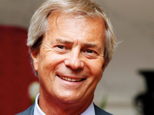 Vincent Bolloré, the CEO of Bolloré Group. The businessman is a close friend of former French President Nicolas Sarkozy and has built an impressive reputation
