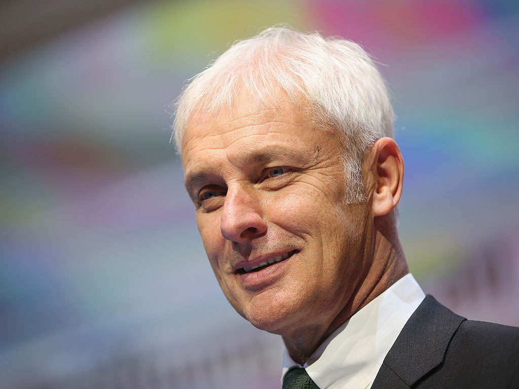 Matthias Müller - the man who has been appointed as VW's new CEO in order to deal with its PR crisis