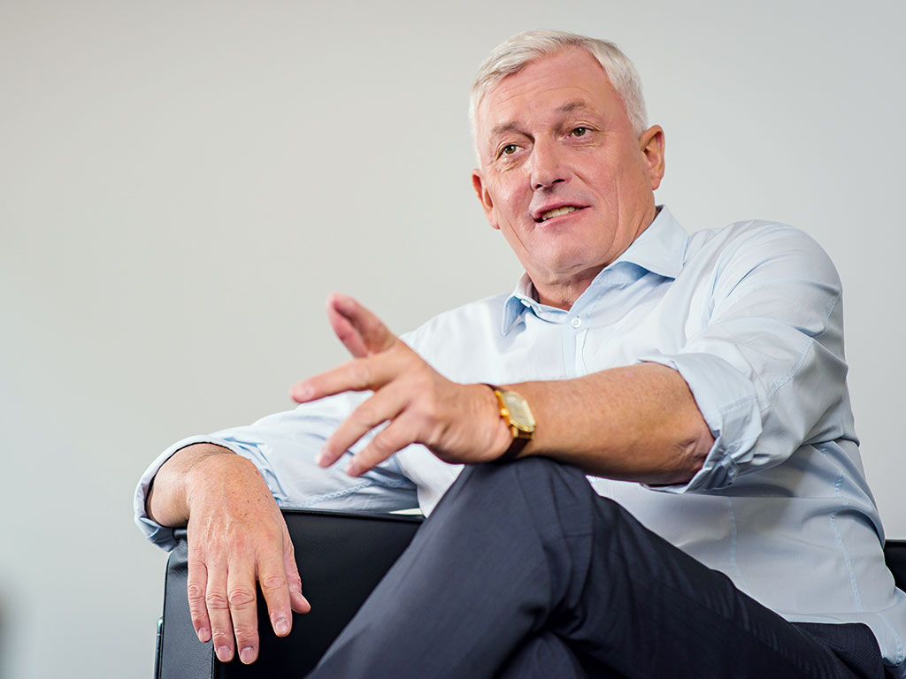 Dietmar Müller, founder and CEO of KPS