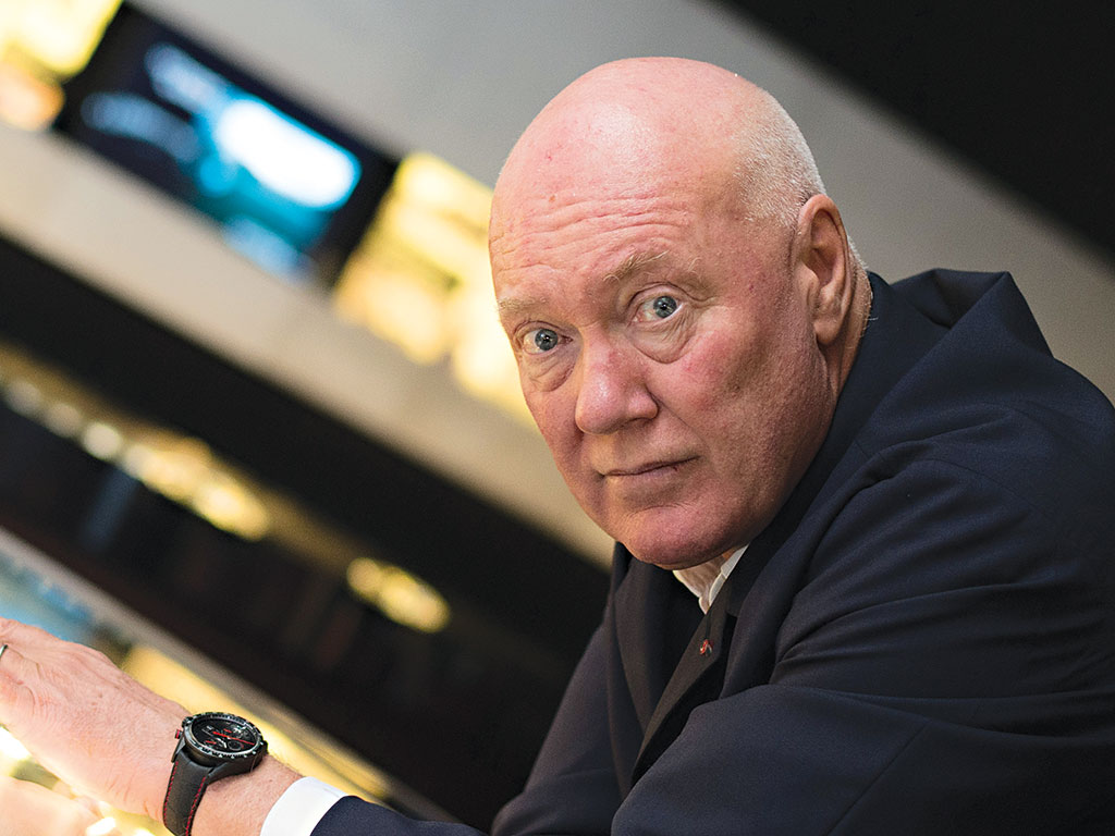 Jean-Claude Biver, who has had a profound impact over the Swiss watch industry