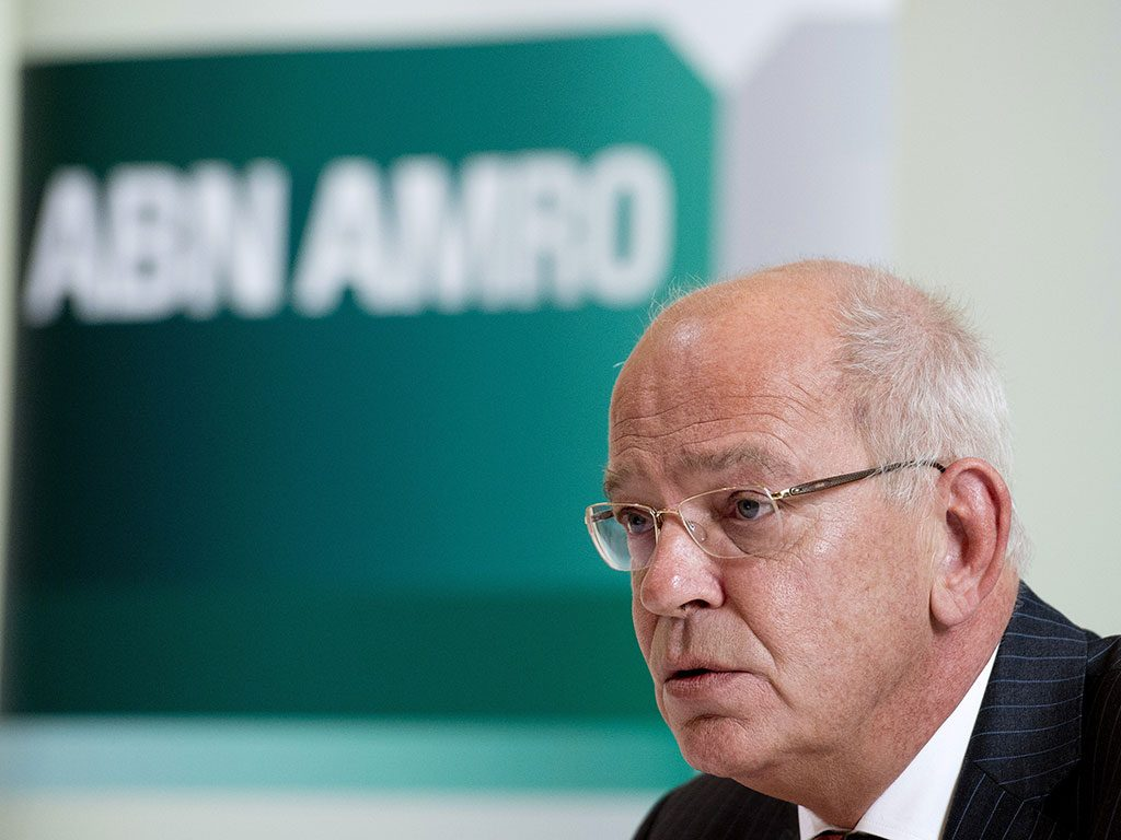 Gerrit Zalm has announced his early departure from his CEO post at Dutch bank ABN Amro