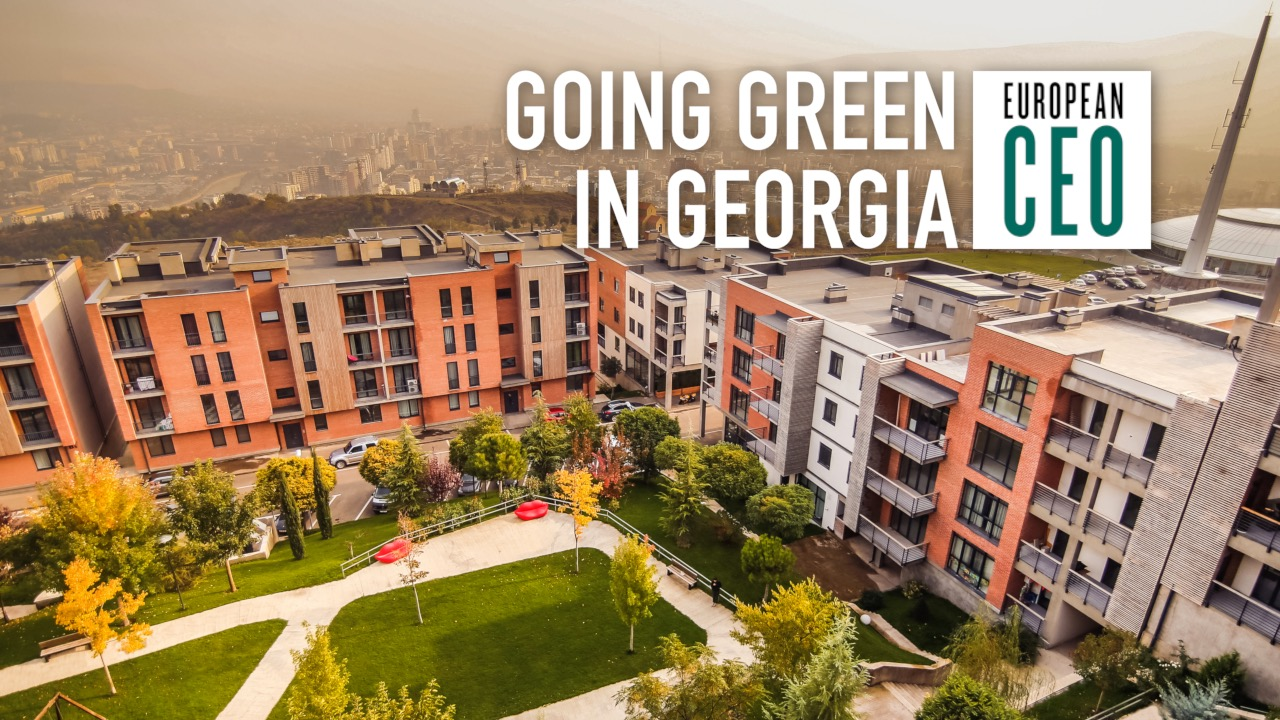 Nodar Adeishvili explains the green living vision behind Lisi Green Town