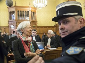 IMF head, Christine Lagarde, has been convicted for negligence, but will face no further punishment, a court has ruled