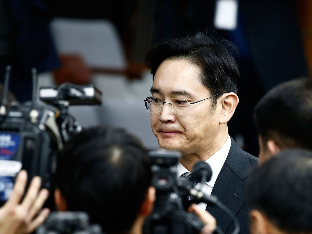 Samsung heir and Vice Chairman Lee Jae-yong is alleged to have paid up to $36m to aides in exchange for political influence