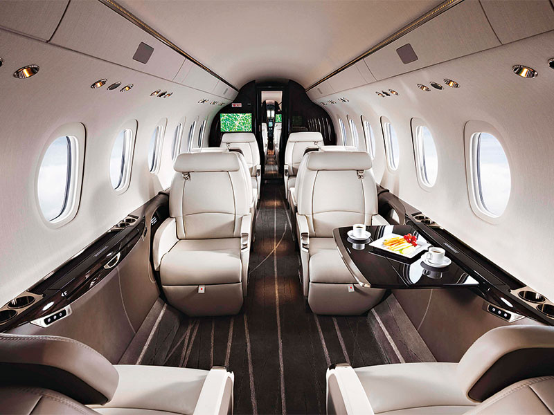 Textron's luxury aircraft allow you to stay in the game even