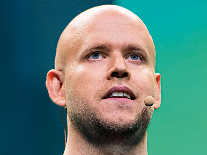 Through Spotify, Daniel Ek has changed the music industry forever