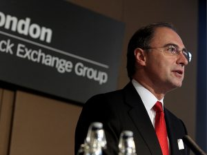 London Stock Exchange CEO announces departure